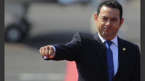 Jimmy celebra el Día contra la Corrupción pese a cuestionamientos
