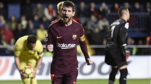 Lionel Messi iguala otro récord goleador con el Barcelona
