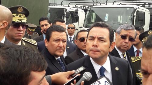 """Jimmy: """"¿Alguien procura por los derechos humanos en Guatemala?"""""""