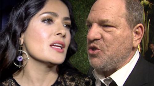 Weinstein responde a Salma Hayek por acusación de acoso sexual