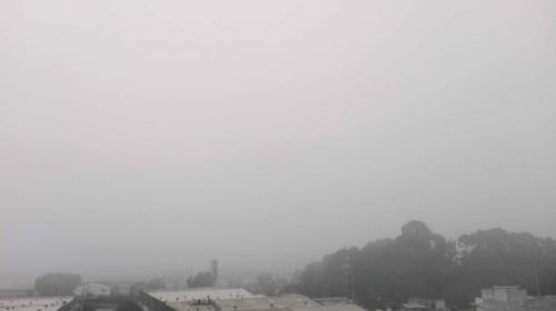 Suspenden actividades en el Aeropuerto La Aurora por neblina