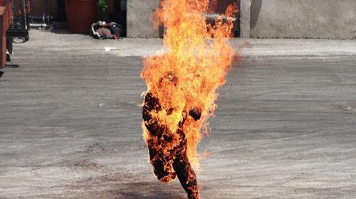 El misterioso caso del hombre que ardió en llamas repentinamente