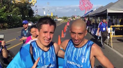 Oro y plata para Guate en la maratón de los Juegos Centroamericanos