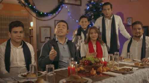 """Jimmy en mensaje navideño junto a su familia: """"Ha sido un año difícil"""""""