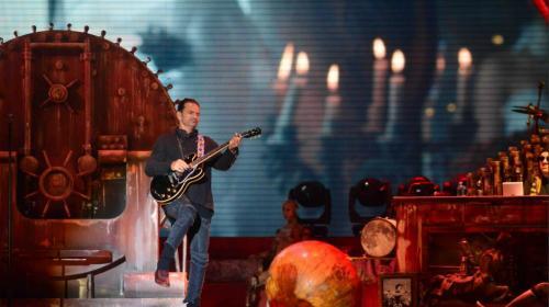 Ricardo Arjona publicó un video de su concierto en Guatemala