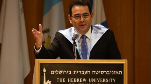 """Jimmy acerca de apoyo a Israel: """"Somos de un pensamiento cristiano"""""""