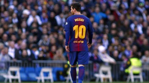 ¿Dónde está Messi? El argentino casi no ha aparecido en el Clásico