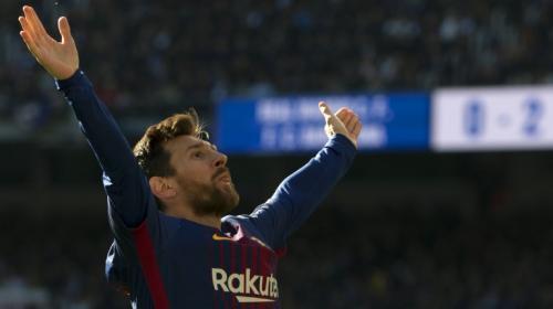 La mano de Carvajal que Messi convierte en gol