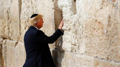 El polémico homenaje que Israel propone para Trump en Jerusalén