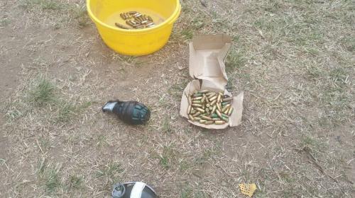 Pandilleros enterraron granadas y armas en Preventivo de la zona 18