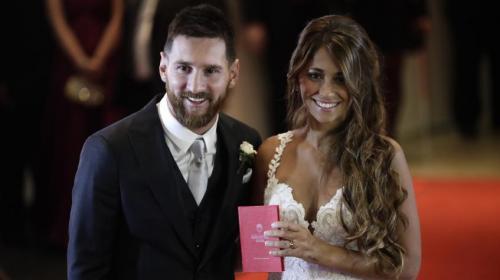 Además de casarse, Messi y Antonella sellaron así su relación
