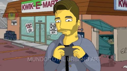 ¿Maluma será parte del próximo capítulo de Los Simpsons?