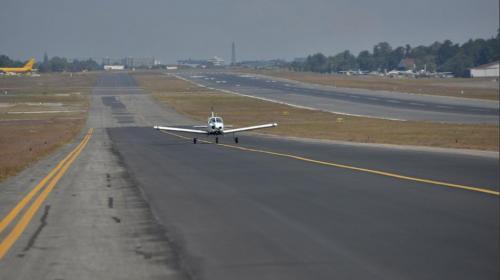 La pista del aeropuerto será utilizada para una carrera nocturna