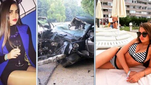 Reina de belleza graba su propia muerte al conducir alcoholizada