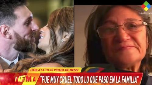 Tía de Messi que no fue invitada a la boda y expone a la familia en TV
