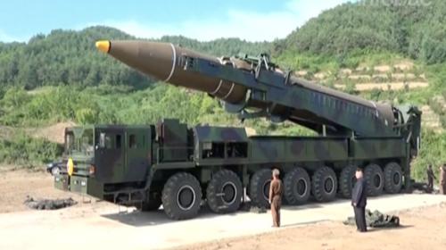 Corea del Norte publica video de lanzamiento de misil intercontinental