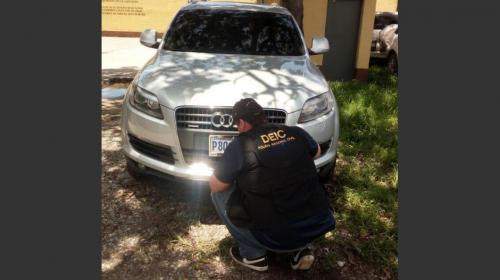 Así llegó a Guatemala un vehículo robado en Eslovaquia