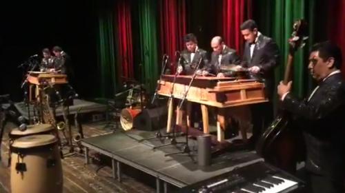 Así es un concierto de Fidel Funes y su Marimba Orquesta en Europa