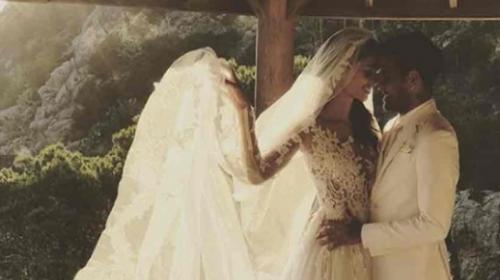 Así fue la boda secreta de Dani Alves