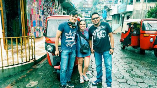 Este fue el recorrido de una presentadora mexicana por Guatemala