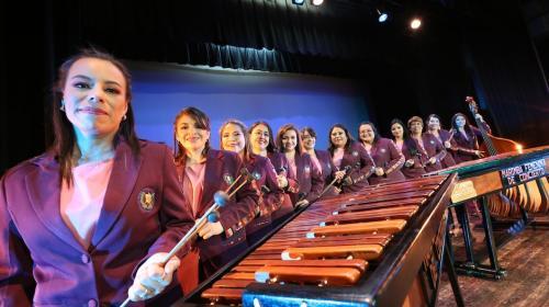La Marimba Femenina de Conciertos realizará una gira por Sudamérica