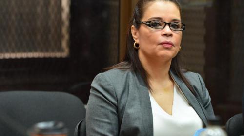 Juez Gálvez presiona al Inacif por informe sobre salud de Baldetti