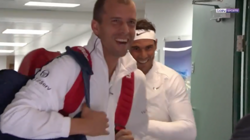 El insólito accidente de Nadal previo a su eliminación en Wimbledon