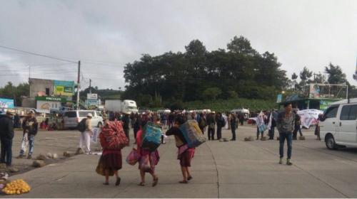 Codeca bloquea estas rutas durante segundo día de protestas