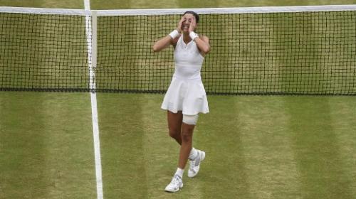 Tenista española acaba con el imperio Williams en Wimbledon