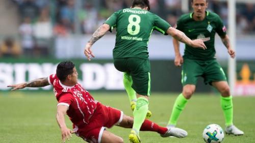 James Rodríguez debutó con Bayer Munich y gana torneo de pretemporada