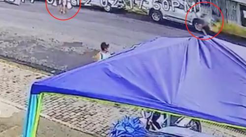 Hombre muere atropellado por un motorista que hacía caballito