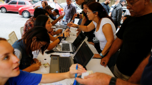 Venezolanos en Guatemala se unirán a la consulta popular este domingo