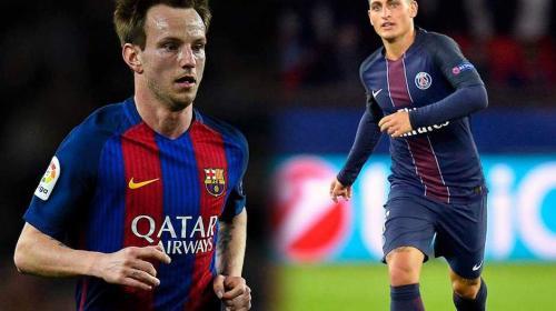 Barça dispuesto a ceder a Rakitic por Verratti y pagar estos millones