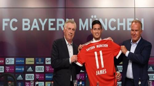 Esto cuesta la nueva camiseta de James Rodríguez con el Bayern