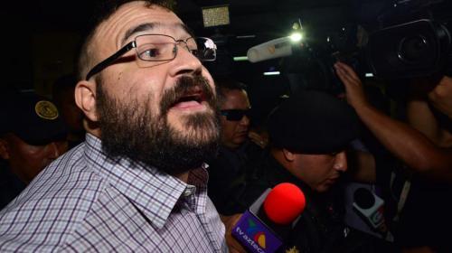 Javier Duarte espera su extradición en la Fuerza Aérea Guatemalteca