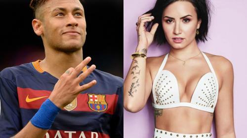 ¿Neymar tiene romance con Demi Lovato?