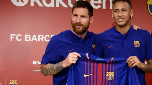 Cansado de estar bajo la sombra de Messi, Neymar podría dejar el Barça