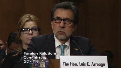 Luis Arreaga ratifica su apoyo a la CICIG frente al Senado de EE.UU.