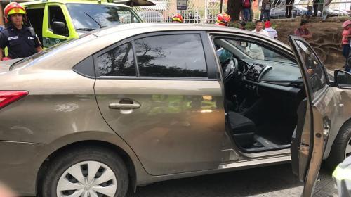 Ataque armado en Avenida Reforma dejó una persona herida