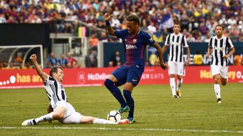 El golazo que Neymar le anotó a la Juventus en partido amistoso