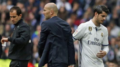 Zidane teme que la partida de Morata afectará al Real Madrid