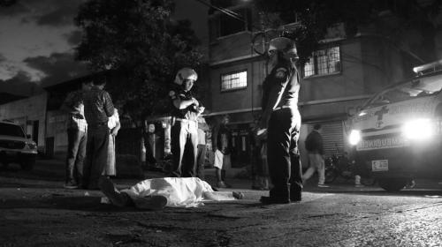 Supuesto delincuente muere en ataque armado en avenida La Castellana