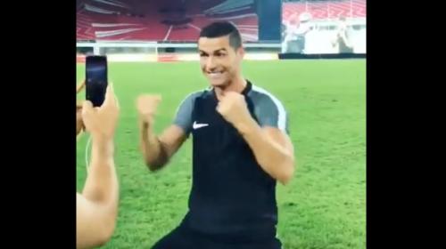 ¿Qué hace Cristiano Ronaldo mientras su equipo está en EE. UU.?