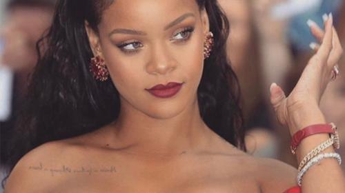 """El escotado vestido que lució Rihanna en el estreno de """"Valerian"""""""