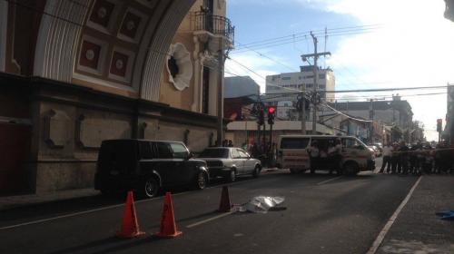 Ataque armado en zona 1 deja un hombre muerto