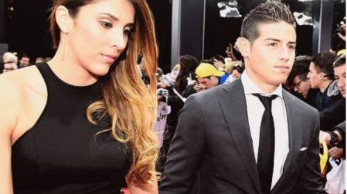 James Rodríguez se separa de su esposa