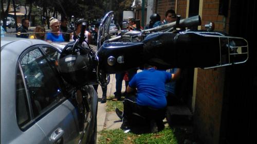 Video: así fue el extraño accidente en San Cristóbal