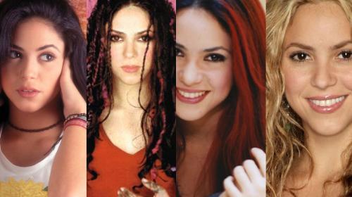 Shakira deja el pelo rubio y regresa a un antiguo look