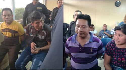 Van a prisión los 4 secuestrados de los niños de San Juan Sacatepéquez
