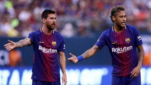 ¿La foto del adiós? Neymar se habría despedido de Messi